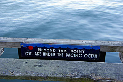 Photograph - Beyond This Point by Marilyn Wilson