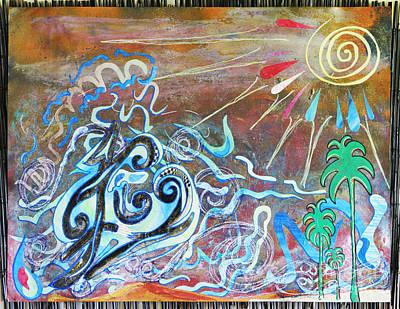 Oahu Mixed Media - Bi Location by Dre Irey