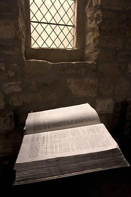 Bible In A Church, Rosedale, North Art Print