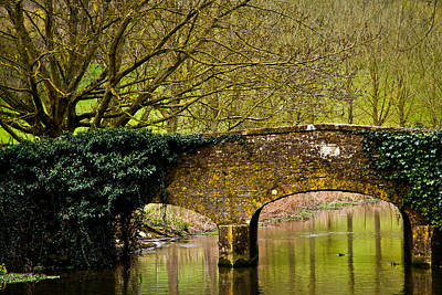 Photograph - Bibury Bridge by Justin Albrecht