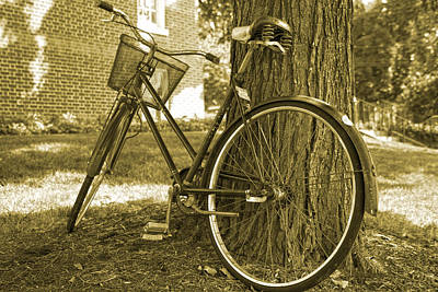 Schwinn Wall Art - Photograph - Bicycle by Betsy Knapp
