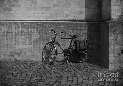 Briex Photograph - Bicycle Goes Tongerlo Abbey by Nop Briex