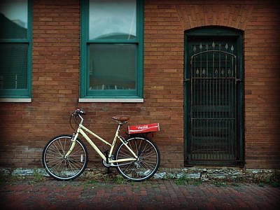 Lowertown Photograph - Bicycle by Rashelle Brown