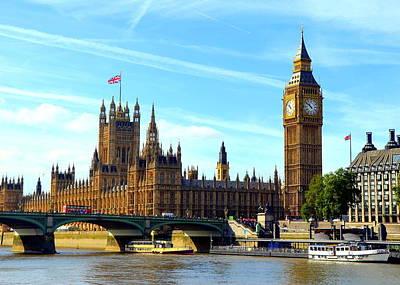 Photograph - Big Ben And Parliament by Carla Parris