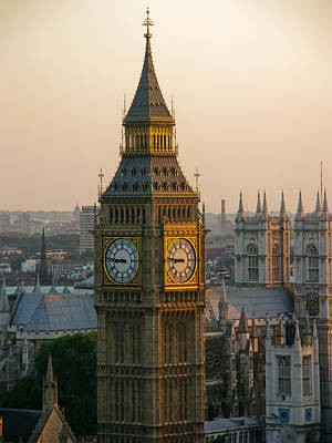 Photograph - Big Ben by Roger Mullenhour