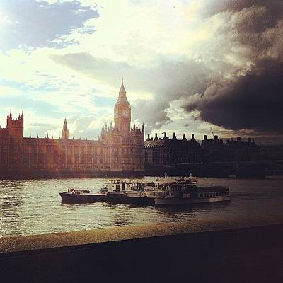 London Photograph - Big Ben by Samuel Gunnell