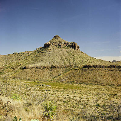 Photograph - Big Bend Natinal Park In Color by M K Miller