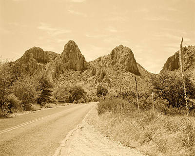 Photograph - Big Bend National Park Drive by M K Miller