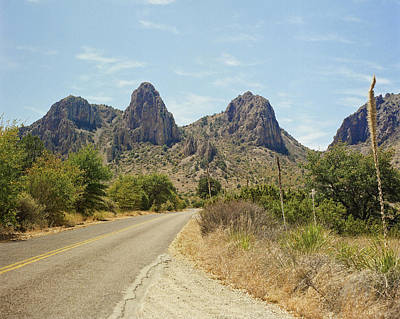 Photograph - Big Bend National Park Texas by M K Miller