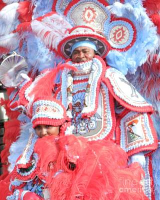 Big Chief And Queen Art Print