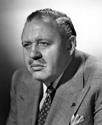 1948 Movies Photograph - Big Clock, Charles Laughton, 1948 by Everett