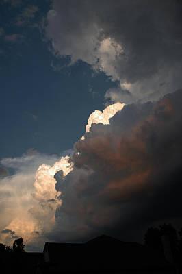 Wind Photograph - Big Clouds by LeeAnn McLaneGoetz McLaneGoetzStudioLLCcom