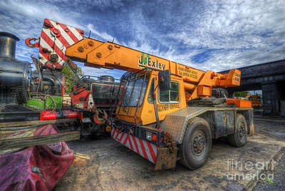Photograph - Big Crane 1.0 by Yhun Suarez