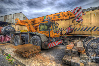 Photograph - Big Crane 2.0 by Yhun Suarez