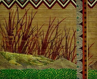 Big Croc Art Print by David Raderstorf