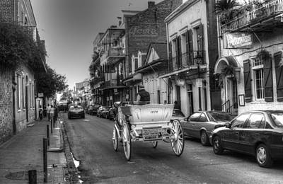Horse Photograph - Big Easy Carriage Ride by Greg Mimbs