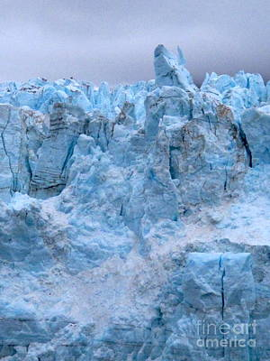 Photograph - Big Glacier by Phyllis Kaltenbach