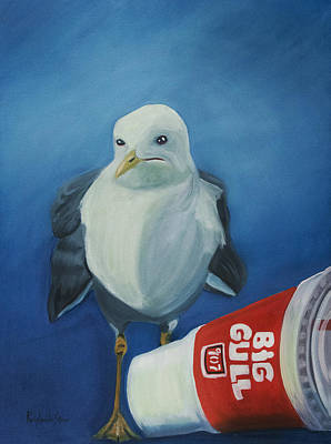 Big Gull Art Print by Amy Reisland-Speer