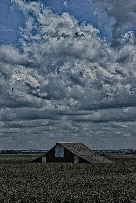 Art Print featuring the photograph Big Illinois Sky by Kimberleigh Ladd