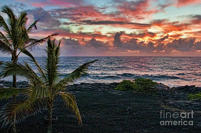Big Island Sunrise Art Print