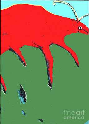 Painting - Big Red by Bill Thomson