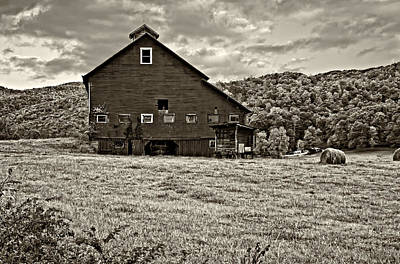West Virginia Photograph - Big Red Sepia by Steve Harrington