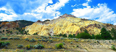 Photograph - Big Rock Candy Mountain - Utah by Donna Greene
