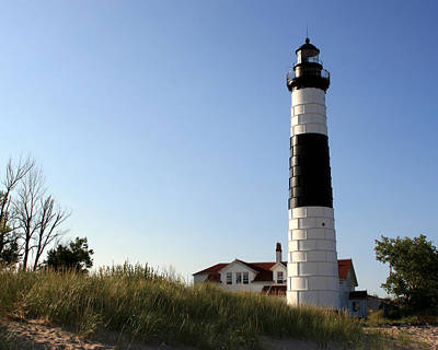 Photograph - Big Sable Point Lighthouse 2 by George Jones