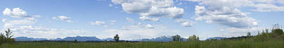 Photograph - Big Sky British Columbia by Barbara  White