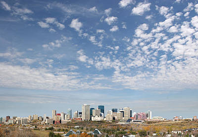 Big Sky Yeg Art Print