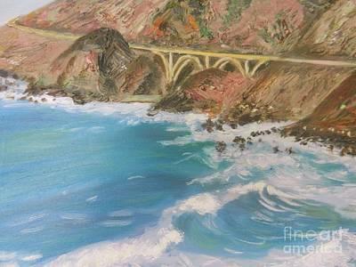 Big Sur Bridge Original