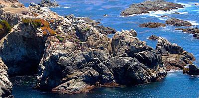 Photograph - Big Sur Coastline I by Jim Pavelle