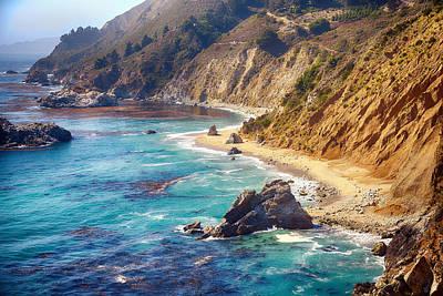 Y120831 Photograph - Big Sur Coastline by Joe Josephs Photography