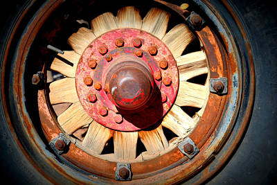 Photograph - Big Wheel by Diane montana Jansson