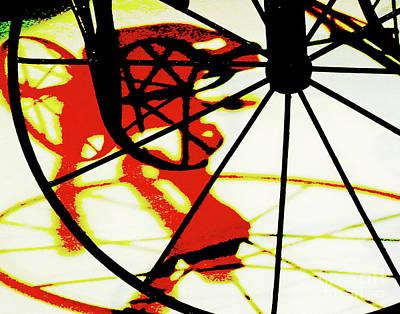 Art Print featuring the photograph Big Wheel by Newel Hunter