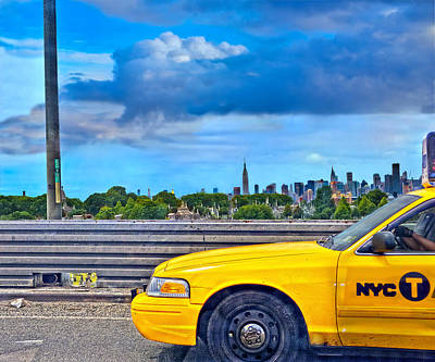 Photograph - Big Yellow Taxi by Marianne Campolongo