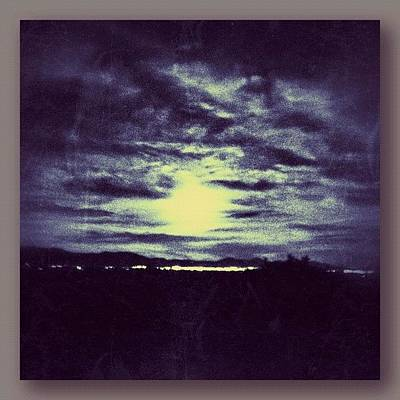 Fineart Photograph - Biggest Full Moon 5-5-12 by Paul Cutright