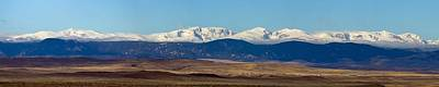 Mountain Photograph - Bighorn Mountains by Twenty Two North Photography
