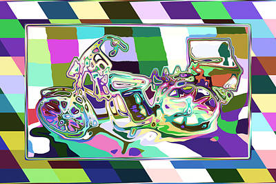 Bike-2b Art Print by Mauro Celotti