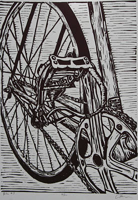 Bike 3 Original by William Cauthern
