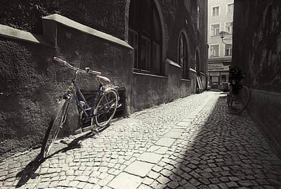 Bike Art Print by Mark Wagoner