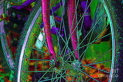 Photograph - Bike On   by Nancy Greenland