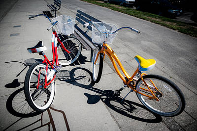 Photograph - Bike Ride by Niels Nielsen