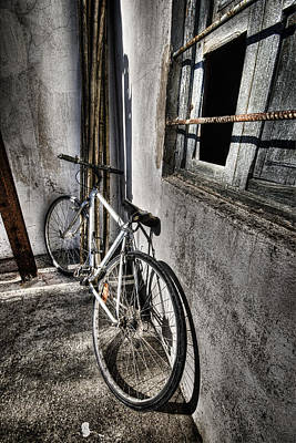 Photograph - Bike Station by Gabriel Calahorra