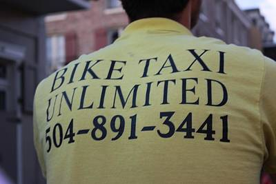 Photograph - Bike Taxi by Rdr Creative