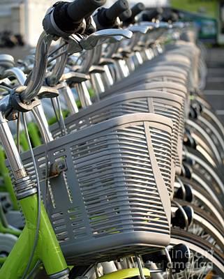 Bikes For Hire Art Print