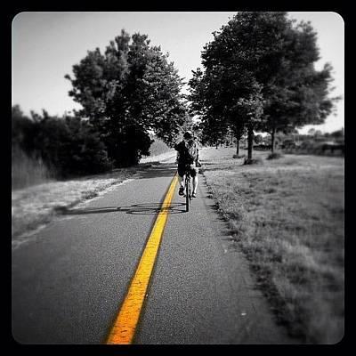 Bicycle Photograph - Biking Home by Natasha Marco