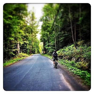 Cycling Wall Art - Photograph - Biking In The Catskills by Natasha Marco