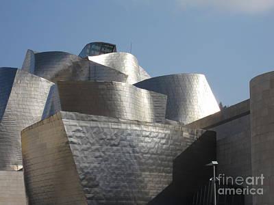 Wall Art - Photograph - Bilbao Guggenheim by Judith Hochroth