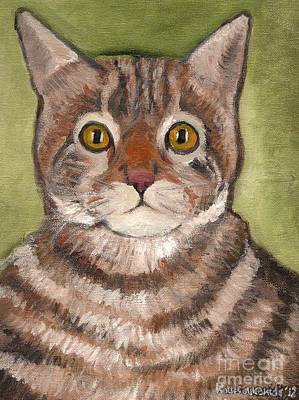 Painting - Bill The Cat  by Kostas Koutsoukanidis